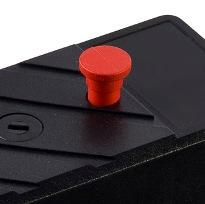 Temporary disable button