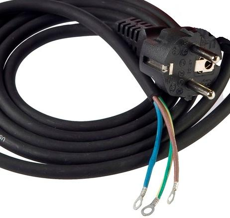 Electrical cables for motor and line connection