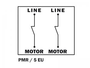 Uspořádání kontaktů - PMR5