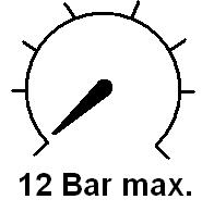 Versions for pressure up to 12 bar