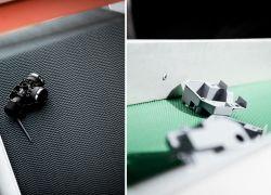 Italflexo - příklady výlisků na vlastních lisovacích strojích