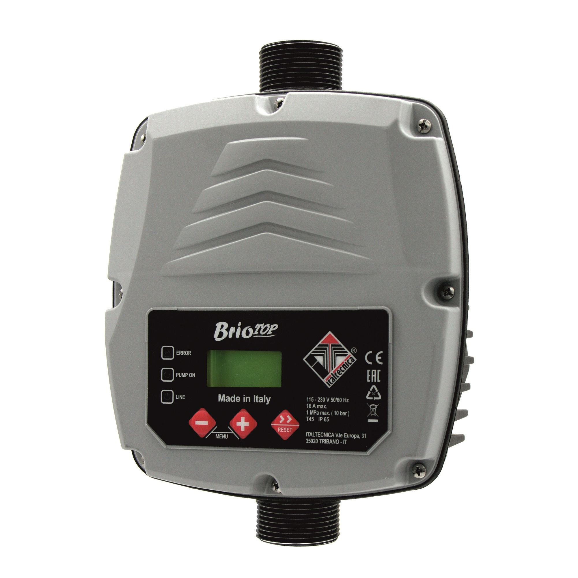 Pressure and flow controllers