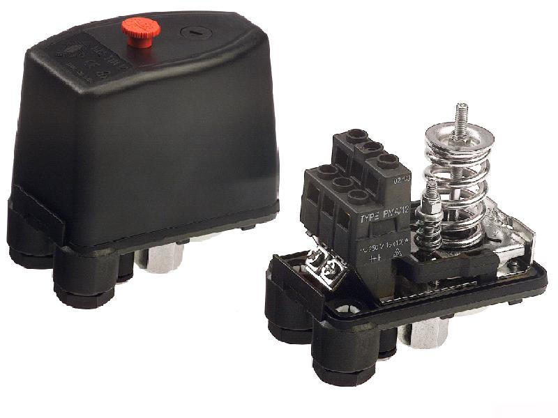Pressure switches for healting system